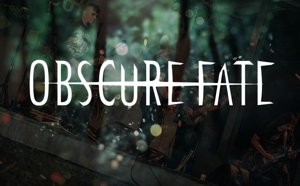 Obscure Fate metallibändi livenä Sound Factoryssa perjantaina 6.12.2019.