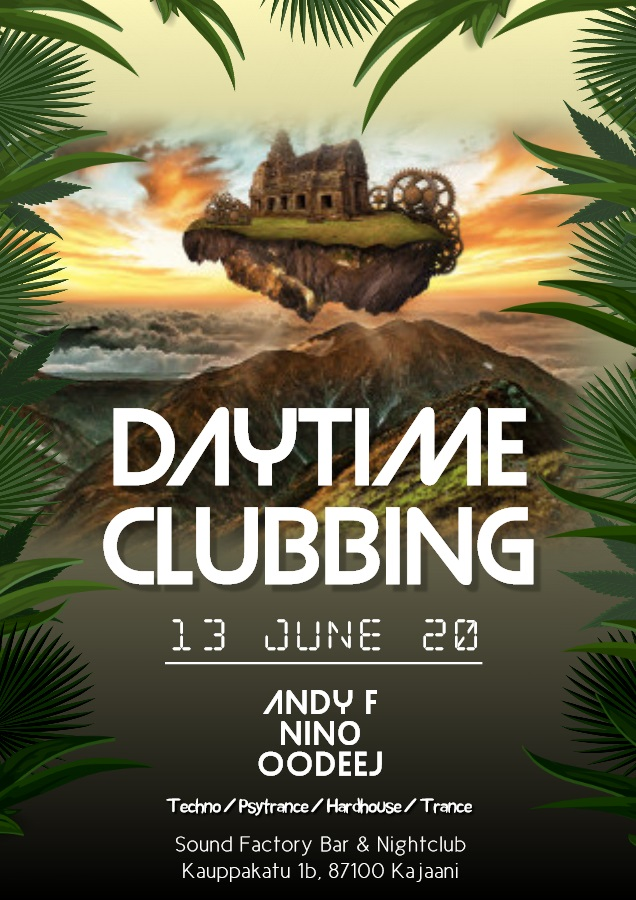 Daytime Clubbing - Andy F