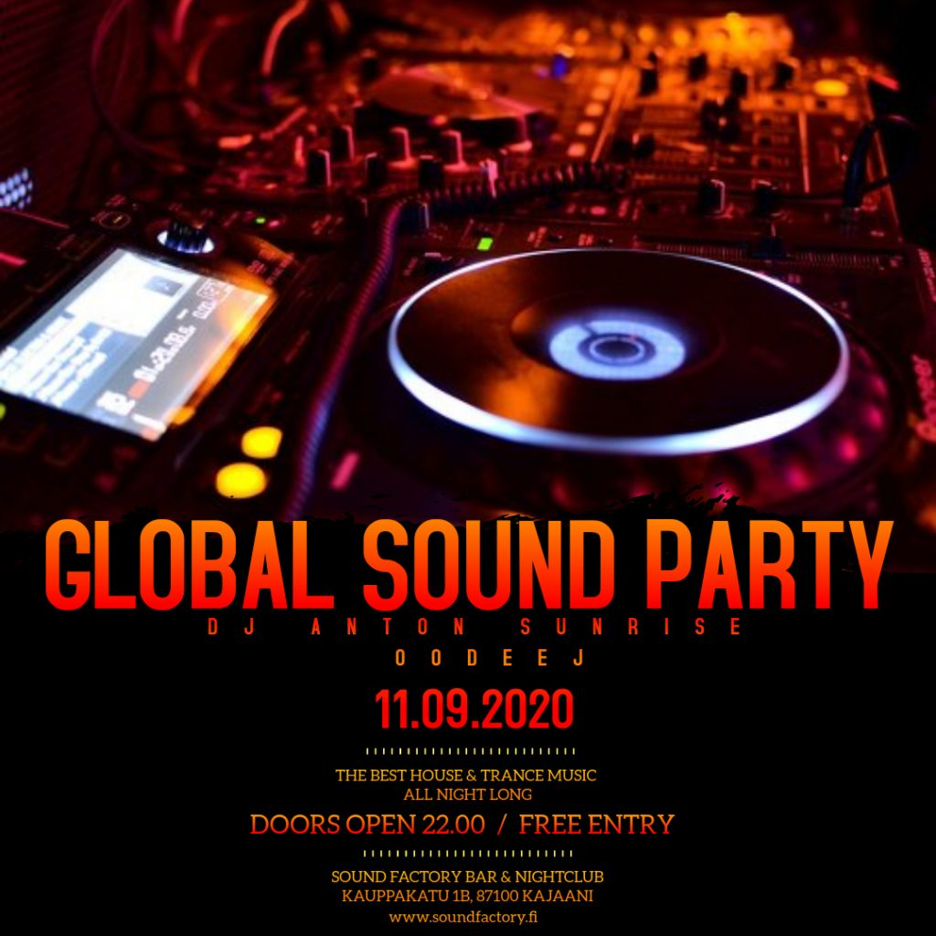 Global Sound Party 11.09.2020